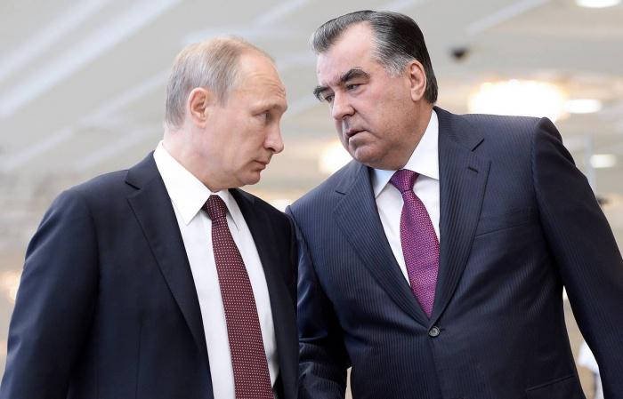 Путин и Рахмон обсудили ситуацию в Афганистане